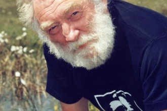 David Bellamy at Meathop Moss Nature Reserve 1998