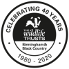 Celebrating 40 years of The Wildlife Trust for Birmingham and the Black Country logo