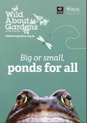 Wild About Gardens, Ponds for all booklet