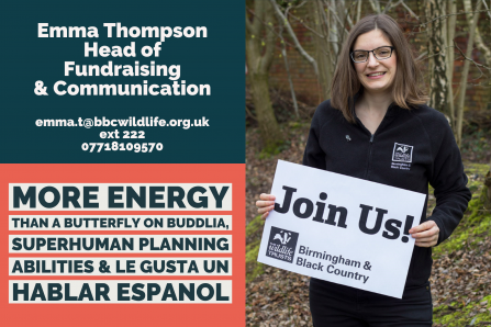 Emma Thompson - Head of Fundraising & Communications