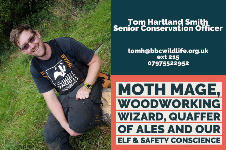 Senior Conservation Officer - Tom Hartland-Smith
