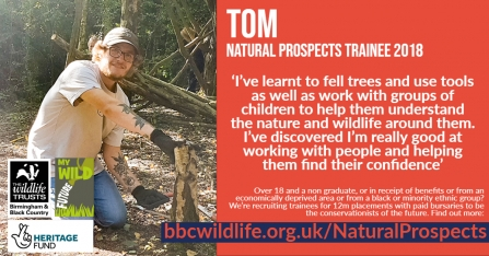 Tom - Natural Prospects Trainee