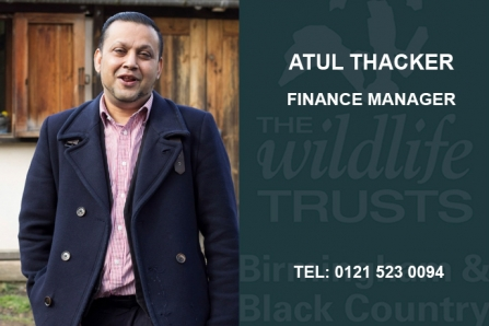Atul Thaker, Finance Manager, atul.t@bbcwildlife.org.uk